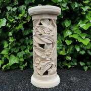 リゾートなプルメリア円柱パラスストーン59cm