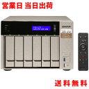 キューナップ QNAP TVS-673 6ベイ HDD-0GB クアッドコア メモリ最大64GB 国内代理店2年保証付き