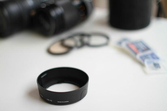カメラ・ビデオカメラ・光学機器用アクセサリー, その他 HB-45 Nikon AF-S DX NIKKOR 18-55mm f3.5-5.6G VR AF-S DX Zoom-Nikkor 18-55mm f3.5-5.6G ED II