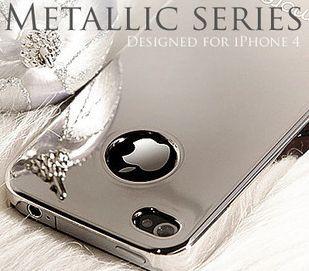 スマートフォン・携帯電話用アクセサリー, ケース・カバー iPhone4 iPhone4S METALLIC SERIE10P09Jul16 8Jun16