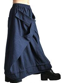 ジョムトン手織り綿の袋状スカート