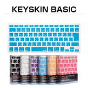 BEFiNE Keyskin キーボードカバー MacBook Air 13インチ MacBook Pro Retinaディスプレイ 13インチ 15インチ ベーシックタイプ キースキン Apple シリコン 日本語 マックブック エアー プロ レティナディスプレイ アップル