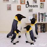 アニマルぬいぐるみ動物ペンギンおもちゃ玩具かわいいゆるかわ45cmプレゼントギフト子供誕生日ラッピング