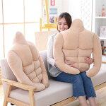 筋肉男の枕抱き枕クッションマッチョ65X60cm