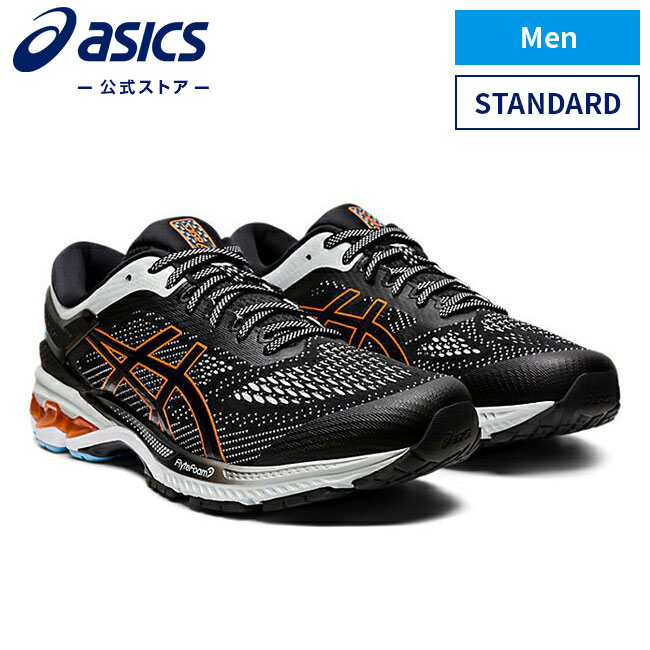 シューズ, メンズシューズ GEL-KAYANO 26 BLACKPOLAR SHADE 1011A541 004 ASICS