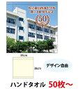 (50枚〜)今治産 ハンドタオル...