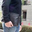 セカンドバッグ メンズ ブランド 本革 クラッチバッグ レザー FIGARO フィガロ Bis ビス レザー 2way ショルダーバッグ 軽量 フォーマル メンズ バッグ 斜めがけ 小さめ 通勤バッグ メンズセカンドバック メンズ セカンドバッグ