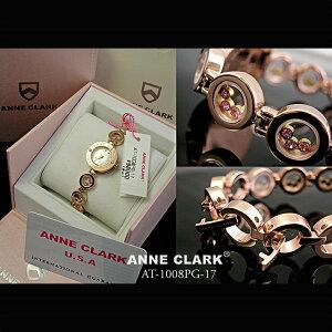 10%OFF 【腕時計】ANNE CLARK Pinkgold 天然シェル ピンク 文字盤[AT1008-17PG] アンクラーク レディース 腕時計 時計 婦人 レディース ブレスウォッチ かわいい プレゼント リストウォッチ 防水 ANy07kpl 送料無料
