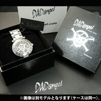 【腕時計】DADangelダッドエンジェルオールセラミックスカルメンズ腕時計メンズウォッチ[DAD703]