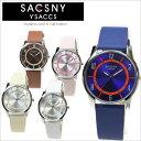 ● 腕時計 SAY-15095 サクスニーイザック SACSNY Y'SACCS メンズ レディース 男女兼用 革 レザーベルト 3気圧防水 時計 オシャレ シンプル 通販ブランド
