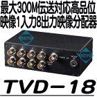 TVD-18【映像信号1入力8分配器】