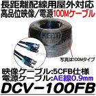 DCV-100FB【防犯カメラ】【HD-SDI対応100M映像/電源延長ケーブル】