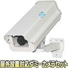DM-605【屋外設置対応壁面取付ダミーカメラセット】