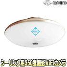 GS-CG360DTK(Dive-yミニシーリング360)【引っ掛けシーリング用360度全方位撮影対応Wi-Fiネットワークカメラ】
