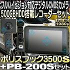 PB3500S+PB-200Sセット(ポリスブック)【サンメカトロニクス】