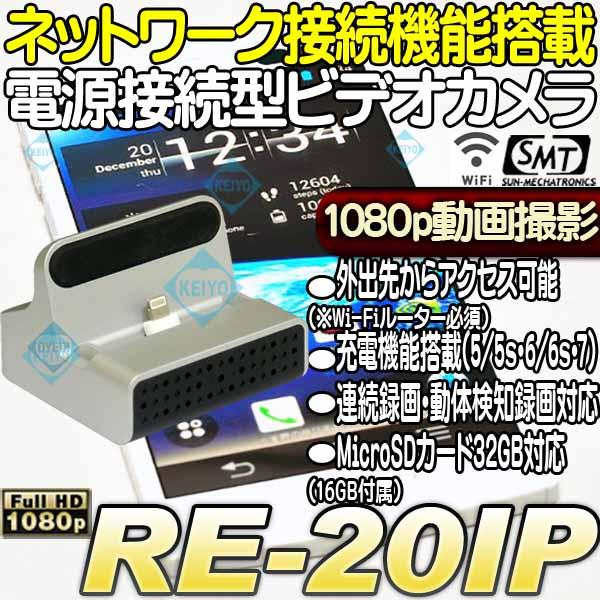 RE-20IP【ネットワーク接続機能搭載電源駆動対応ビデオカメラ】 【フルハイビジョン】 【高感度】  【サンメカトロニクス】  【あす楽】:防犯カメラのアストップケイヨー
