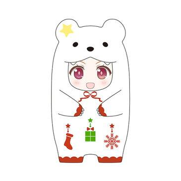 [ねんどろいどもあ] きぐるみフェイスパーツケース しろくまクリスマスVer.
