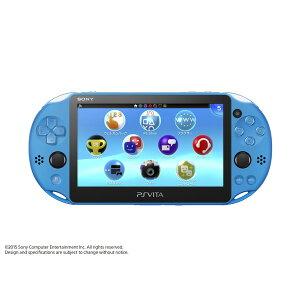 [9月17日発売予定]PlayStation?VitaWi-Fiモデルアクア・ブルーPCH2000ZA23ソニーコンピュータエンタテインメント