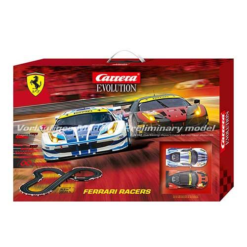 1/32 スロットカー カレラ Evolution フェラーリレーサーズ 20025222 【パッケージ傷みあり】