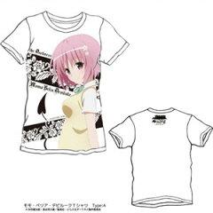 To LOVE-とらぶる-xLIVERTINEGE モモ・ベリア・デビルークTシャツType:A/WHITE-XL キャラアニ