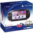 PlayStation Vita Value Pack ピンク/ブラック [PCHJ-10015] ソニー・コンピュータエンタテインメント