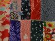 【中古】バラエティはぎれ 正絹古布10枚セット☆小物作り・パッチワークに