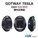 【日本正規品・メーカー保証付・時速50km/h】Gotway Tesla (84V 425wh) 電動一輪車 一輪セグウェイ SEGWAY
