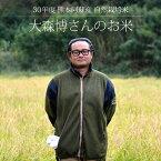 [30年度産 自然栽培米] 大森博さんのお米 5kg / 無農薬・無施肥栽培 / 熊本阿蘇産 / 玄米・白米・分づき米 / イセヒカリ、ササニシキ / 脱酸素剤