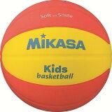 ミカサ スマイルバスケットボール5号球 SB512-YO イエロー×オレンジ