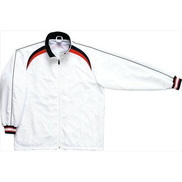 コンバース ジュニアウォームアップジャケット CB462506S 1129 ホワイト×ネイビー
