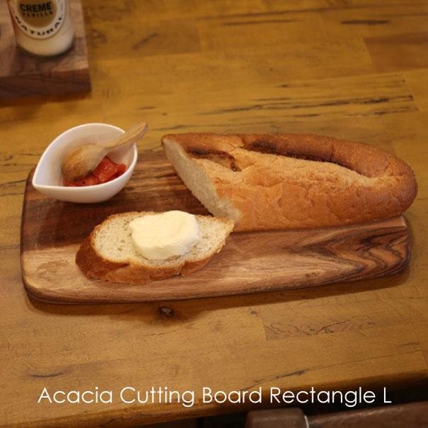 \ポイント最大10倍!5/1 23:59まで/Acacia Cutting Board Rectangle M アカシア カッティングボード プレート 食器 ウッド 木製 ウッドプレート 皿 トレイ トレー パン ピザ 北欧 まな板 チーズボード 長方形