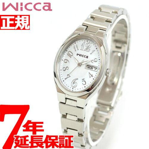 シチズン ウィッカ CITIZEN wicca ソーラー(エコドライブ) 腕時計 レディース KH3-118-91 有村架...