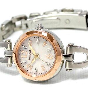 シチズンウィッカCITIZENwiccaエコドライブソーラー腕時計レディースアクセサリー/フラワーブレスKF2-510-11