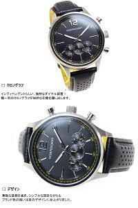インディペンデントINDEPENDENT腕時計メンズタイムレスラインクロノグラフBR3-113-50