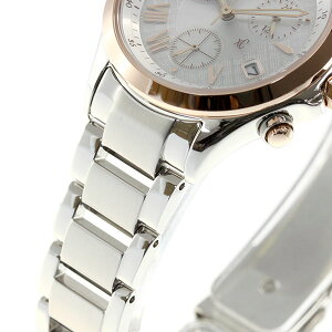 シチズンクロスシーCITIZENxCエコドライブソーラー腕時計レディースクロノグラフ北川景子FB1404-51A
