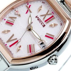 シチズンウィッカCITIZENwicca有村架純コラボモデルソーラーエコドライブ電波時計腕時計レディースHAPPYDIARYKL0-111-93