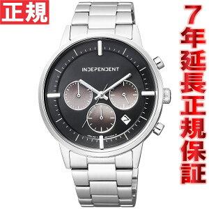 インディペンデントINDEPENDENT腕時計メンズタイムレスラインクロノグラフBR1-811-51