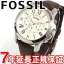 【500円OFFクーポン!11月30日23時59分まで!】FOSSIL フォッシル 腕時計 メンズ GRANT グラント クロノグラフ FS4735
