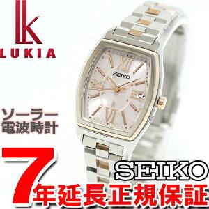セイコールキアSEIKOLUKIA電波ソーラー電波時計腕時計レディース綾瀬はるかイメージキャラクターSSVW030