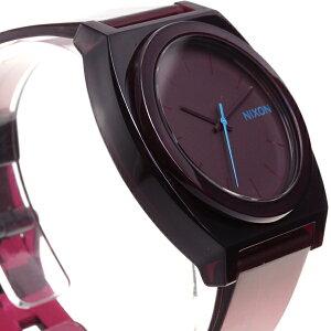 ニクソンNIXONタイムテラーPTIMETELLERP腕時計メンズ/レディーストランスルーセントバーガンディーNA1191782-00