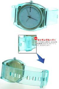 ニクソンNIXONタイムテラーPTIMETELLERP腕時計メンズ/レディーストランスルーセントミントNA1191785-00
