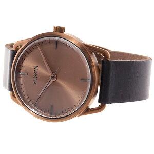 ニクソンNIXONメラーMELLOR腕時計メンズブラック/カッパーNA129734-00