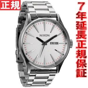 ニクソンNIXONセントリーSSSENTRYSS腕時計メンズシルバーNA356130-00