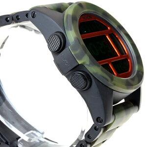 ニクソンNIXONユニットSSUNITSS腕時計メンズデジタルマットブラック/カモNA3601428-00