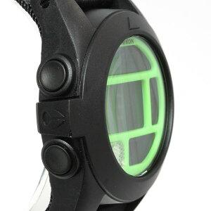 ニクソンNIXONバハBAJA腕時計メンズブラック/ネオングリーン日本先行発売カラーデジタルNA489027-00
