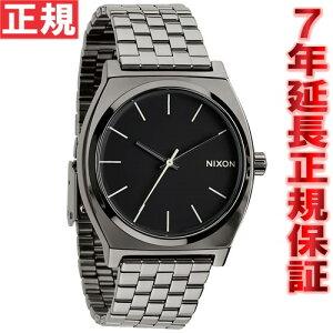 ニクソンNIXONタイムテラーTIMETELLER腕時計メンズポリッシュガンメタル/ラムNA0451885-00
