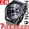 ニクソン NIXON セントリークロノレザー SENTRY CHRONO LEATHER 腕時計 メンズ クロノグラフ ブラックゲーター NA4051886-00
