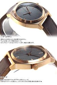 ニクソンNIXONタイムテラーTIMETELLER腕時計メンズローズゴールド/ガンメタル/ブラウンNA0452001-00