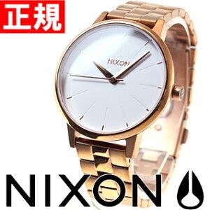 ニクソンNIXONケンジントンKENSINGTON腕時計レディースローズゴールド/ホワイトNA0991045-00