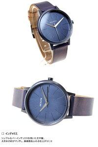 ニクソンNIXONケンジントンレザーKENSINGTONLEATHER腕時計レディースオールインディゴ/ナチュラルNA1081930-00